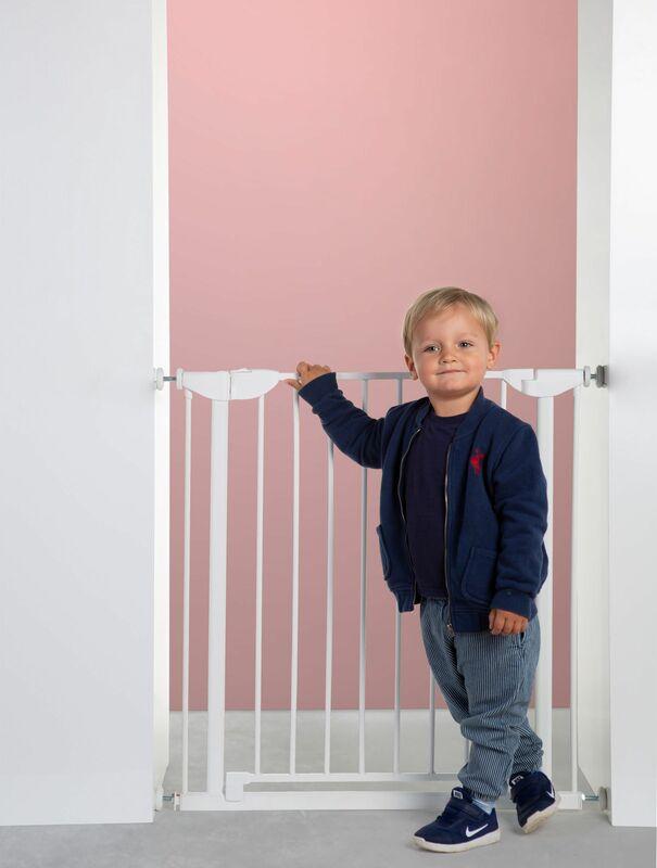 Barrière de sécurité Eltra 75 – 81 cm Blanc Childhome Enfant