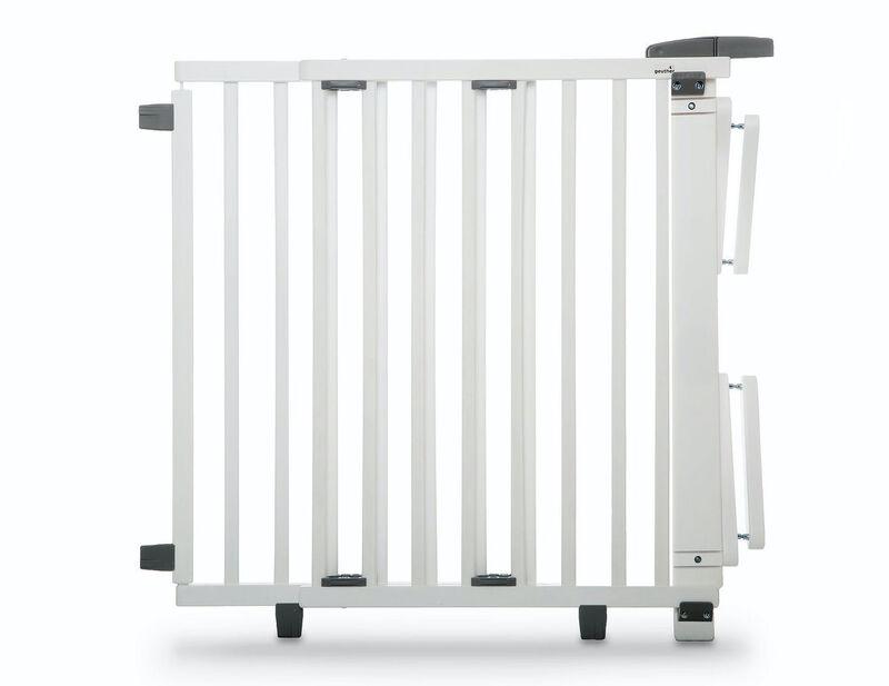 Barrière de sécurité plus pour escalier 67-107 cm en bois Geuther Produit
