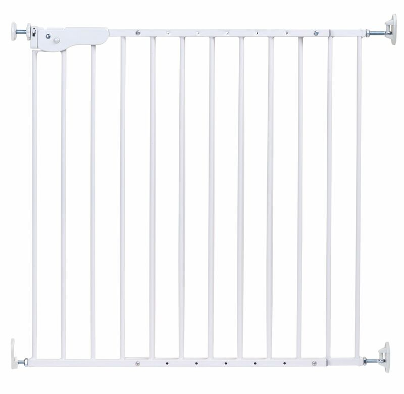 Barrière de sécurité en métal 75 – 110 cm Blanc Childhome Produit