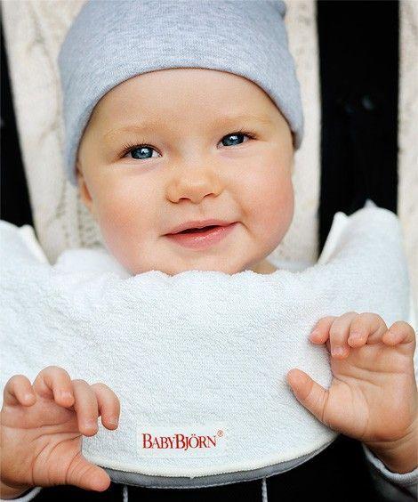 Bavoir pour Porte-bébé BABYBJORN Noir