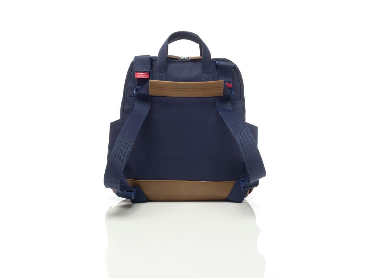 BM0418 Sac a dos a langer Robyn Convertible Backpack Navy Dos Babymel Bambinou