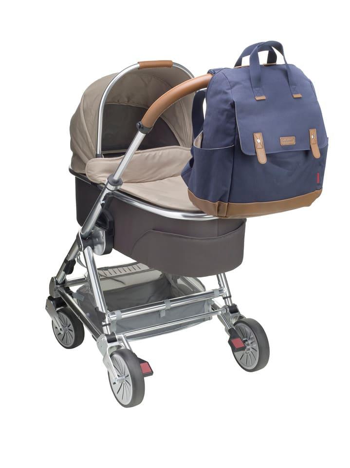 BM0418 Sac a dos a langer Robyn Convertible Backpack Navy Poussette Babymel Bambinou