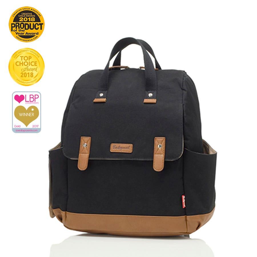 BM9182 Sac a dos a langer Robyn Convertible Backpack Black Prix Babymel Bambinou