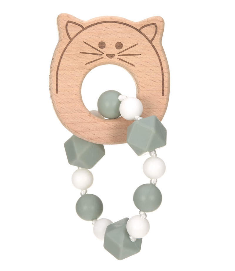 Bracelet de dentition Little Chums Chat Lassig 1