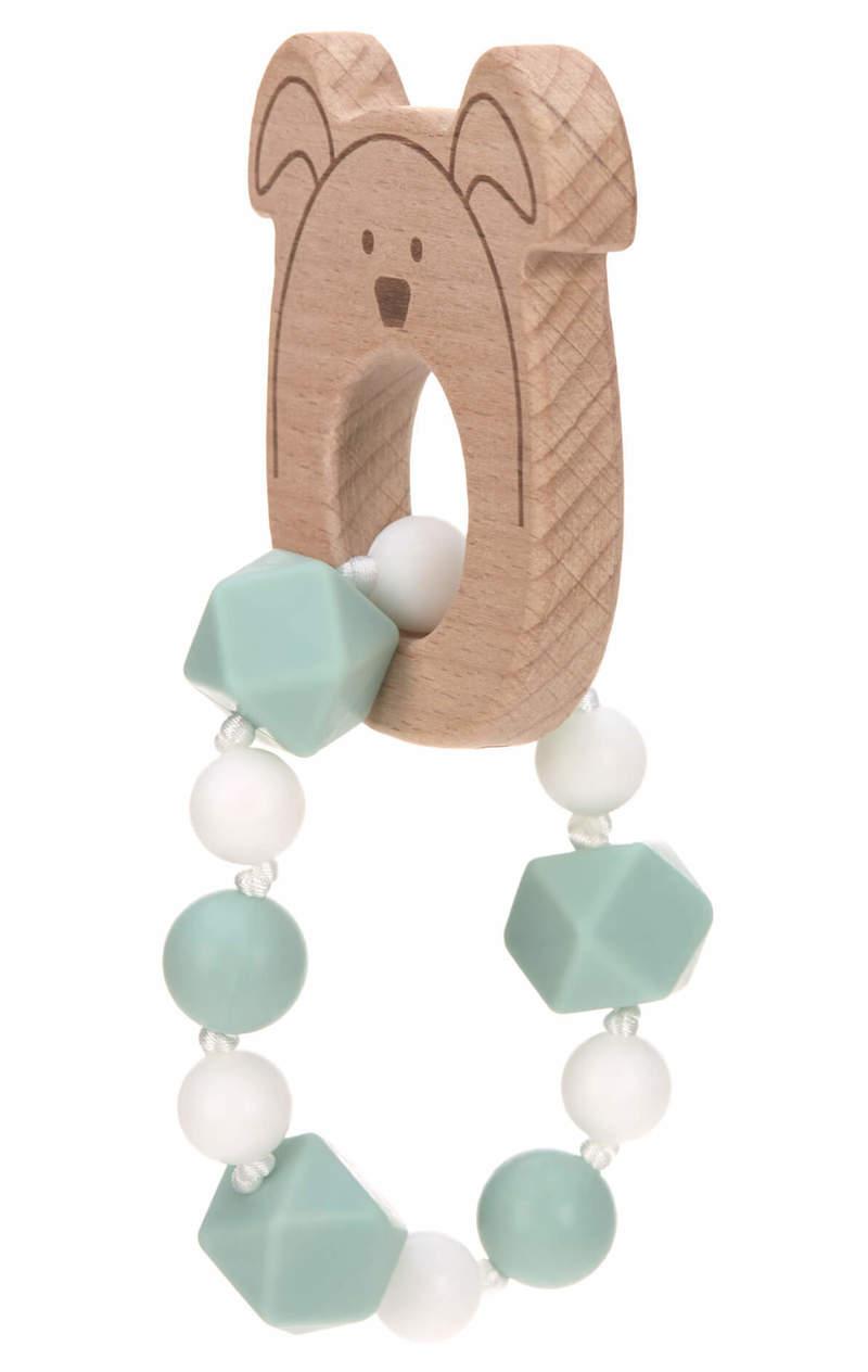 Bracelet de dentition Little Chums Chien Lassig 3