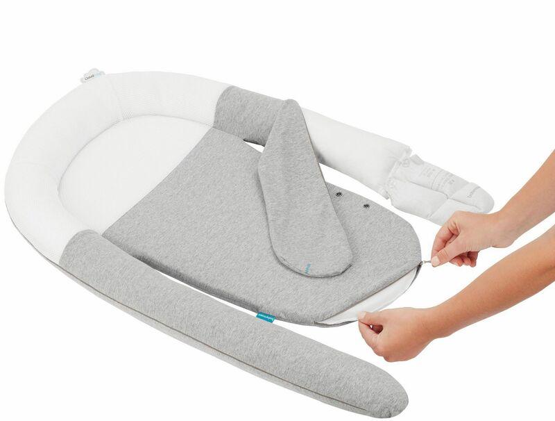 Cale-bébé anti-coliques Cloud Nest Babymoov Utilisation
