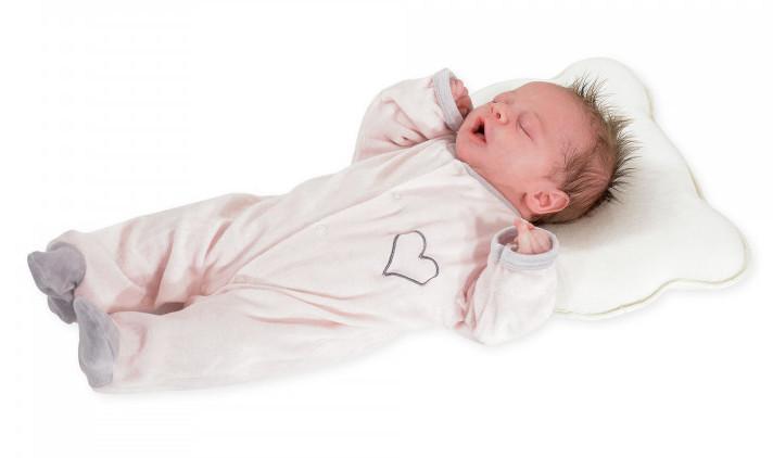 Cale tête en coton Blanc Trois Kilos Seot Enfant