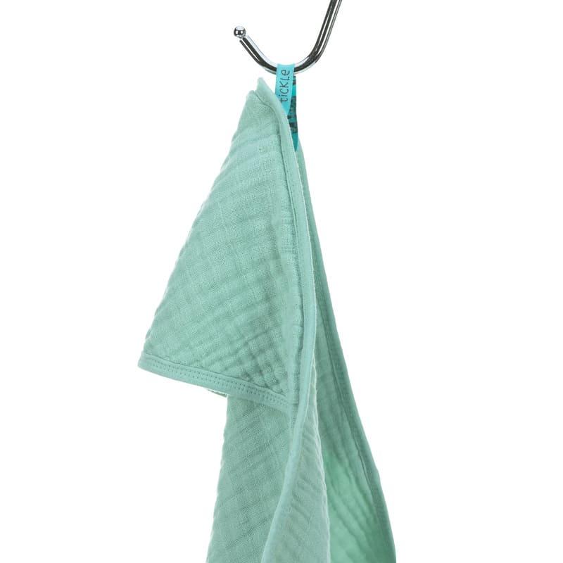 Cape de bain en mousseline Lassig Crochet
