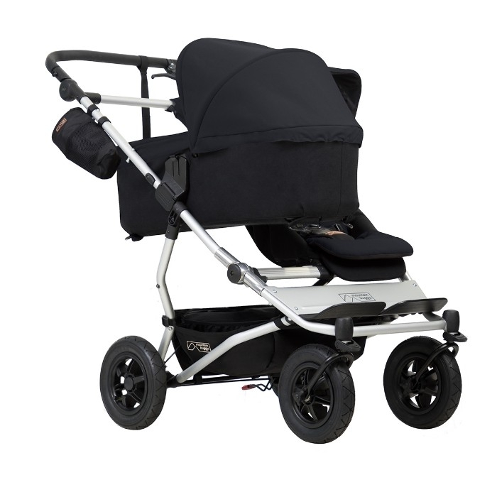 Nacelle carrycot Plus pour poussette Duet V3 Mountain Buggy face parent