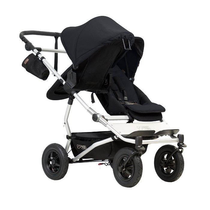 Nacelle carrycot Plus pour poussette Duet V3 Mountain Buggy face route