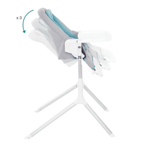 Chaise haute 2 en 1 Slick Babymoov Inclinaisons