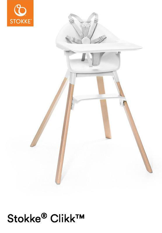 Chaise haute bébé Clikk Stokke Repose-oieds