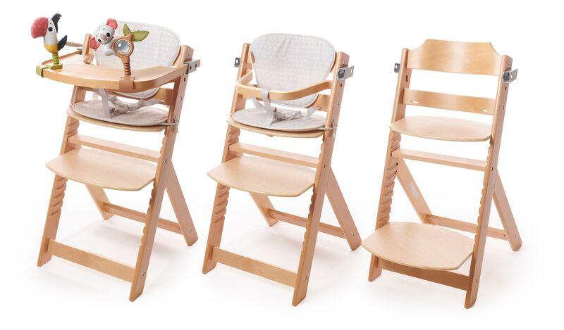 Chaise haute évolutive 3 en 1 en bois Boho Chic Tiny Love Utilisation