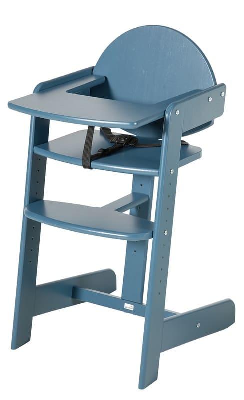 Chaise haute évolutive Filou Up Bleu Pétrole Geuther Produit