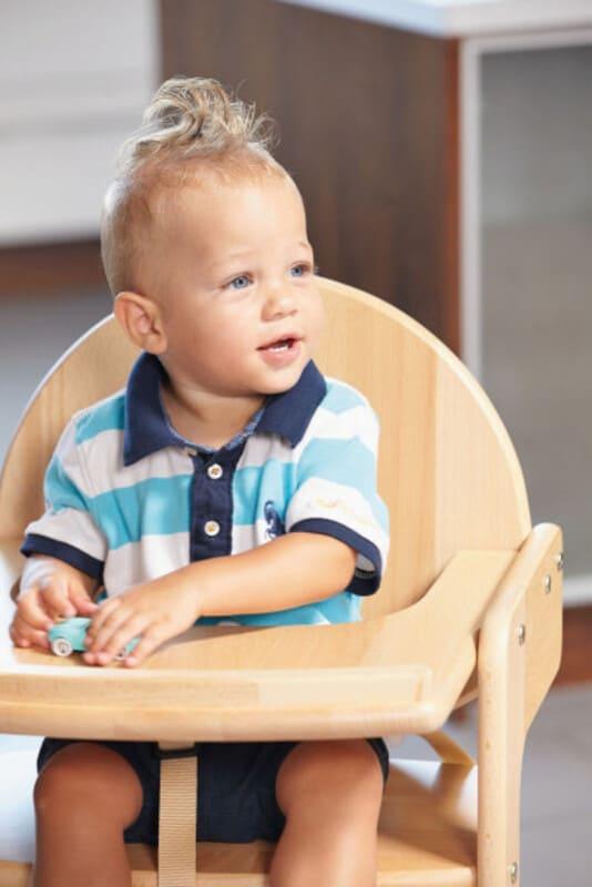 Chaise haute évolutive Filou Up Naturel Geuther Enfant