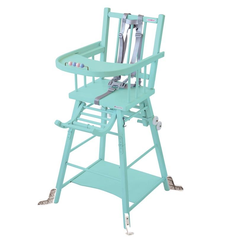 Chaise haute Marcel transformable barreaux Combelle Produit
