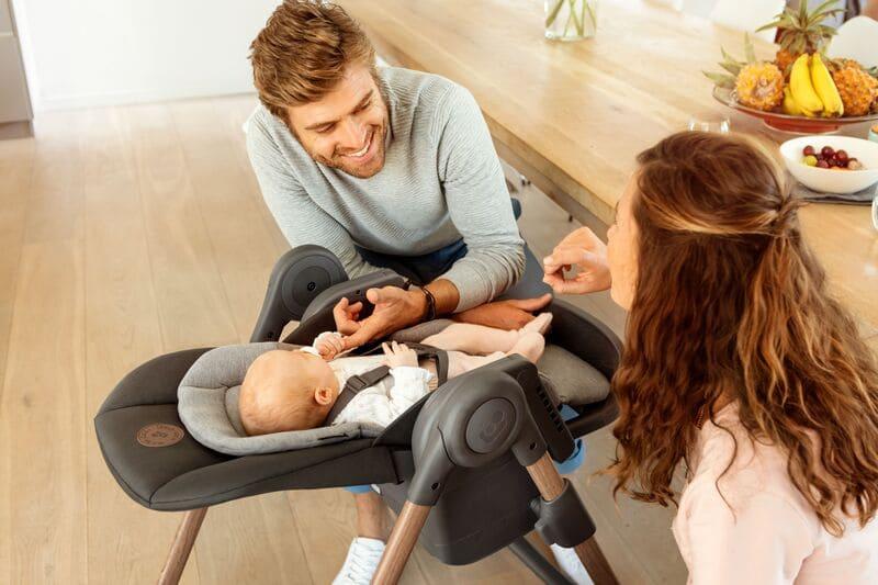 Chaise haute Minla Bébé Confort Maxi Cosi Réducteur