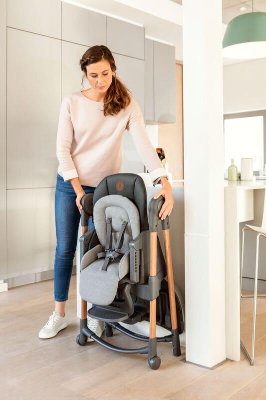 Chaise haute Minla Bébé Confort Maxi Cosi Pliée