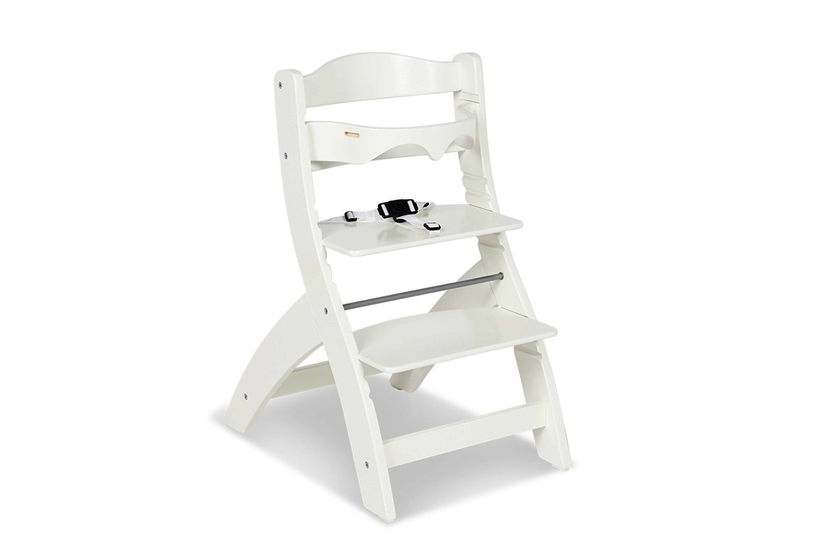 Chaise haute Thilo blanc Pinolino