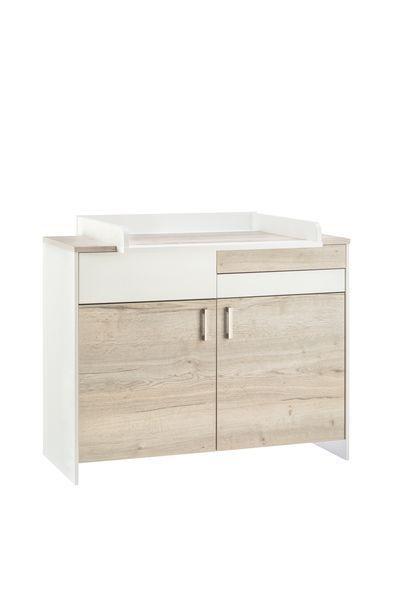 Chambre CLOU OAK lit kit-transfo commode armoire 3 portes Schardt Bambinou