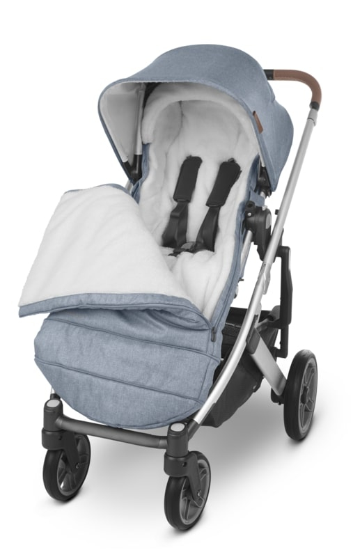 Chancelière CozyGanoosh poussette Uppababy Uppababy Ouverte