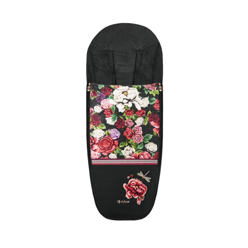 Chancelière poussettes Mios et Priam édition spéciale Spring Blossom Dark Cybex