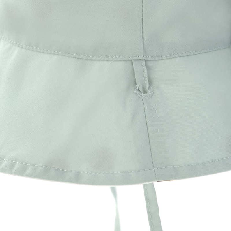 Chapeau anti-UV réversible Pois blanc Lassig Noeud