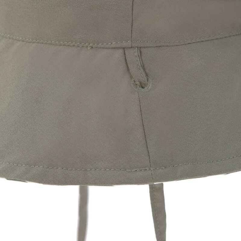 Chapeau anti-UV réversible Rayé olive Lassig Noeud
