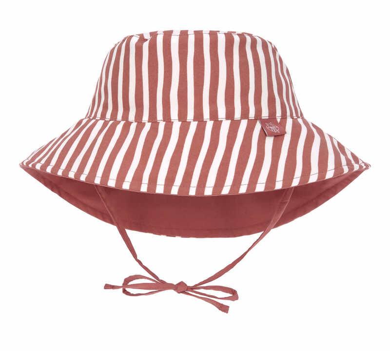 Chapeau anti-UV réversible Rayé rouge Lassig Produit