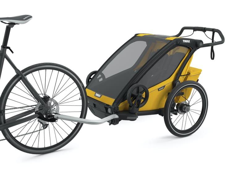 Chariot à vélo Sport 2 Spectra Yellow Thule Vélo