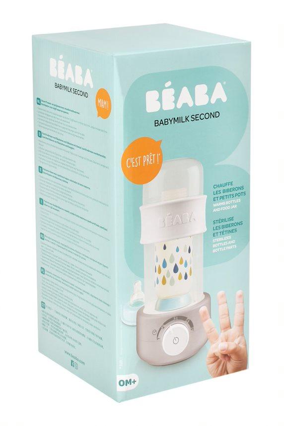 Chauffe biberon Babymilk Second Grey Béba Packaging