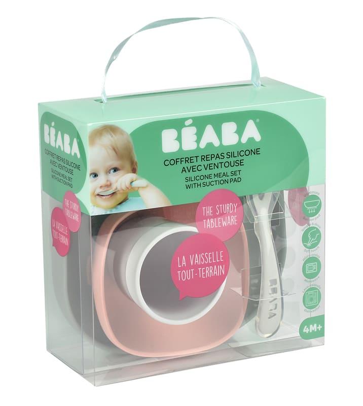 Coffret repas silicone Béaba Packaging