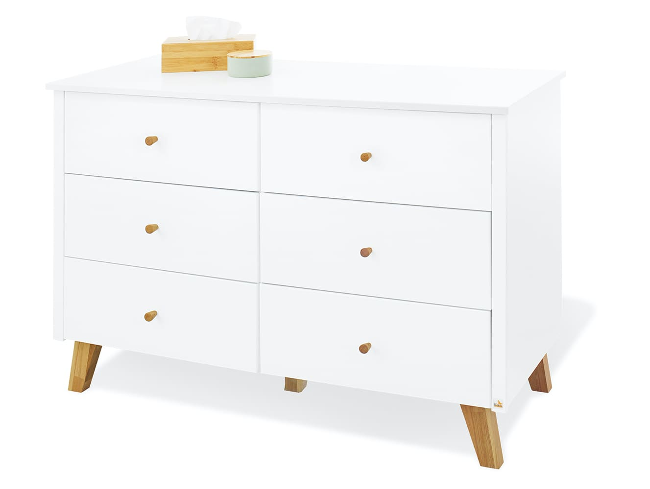 Commode à langer Pan extra large Pinolino Simple