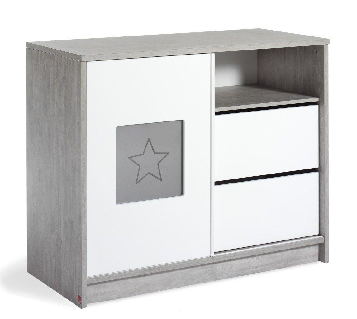 Chambre ECO STAR : lit kit-transfo commode armoire Schardt BamBinou