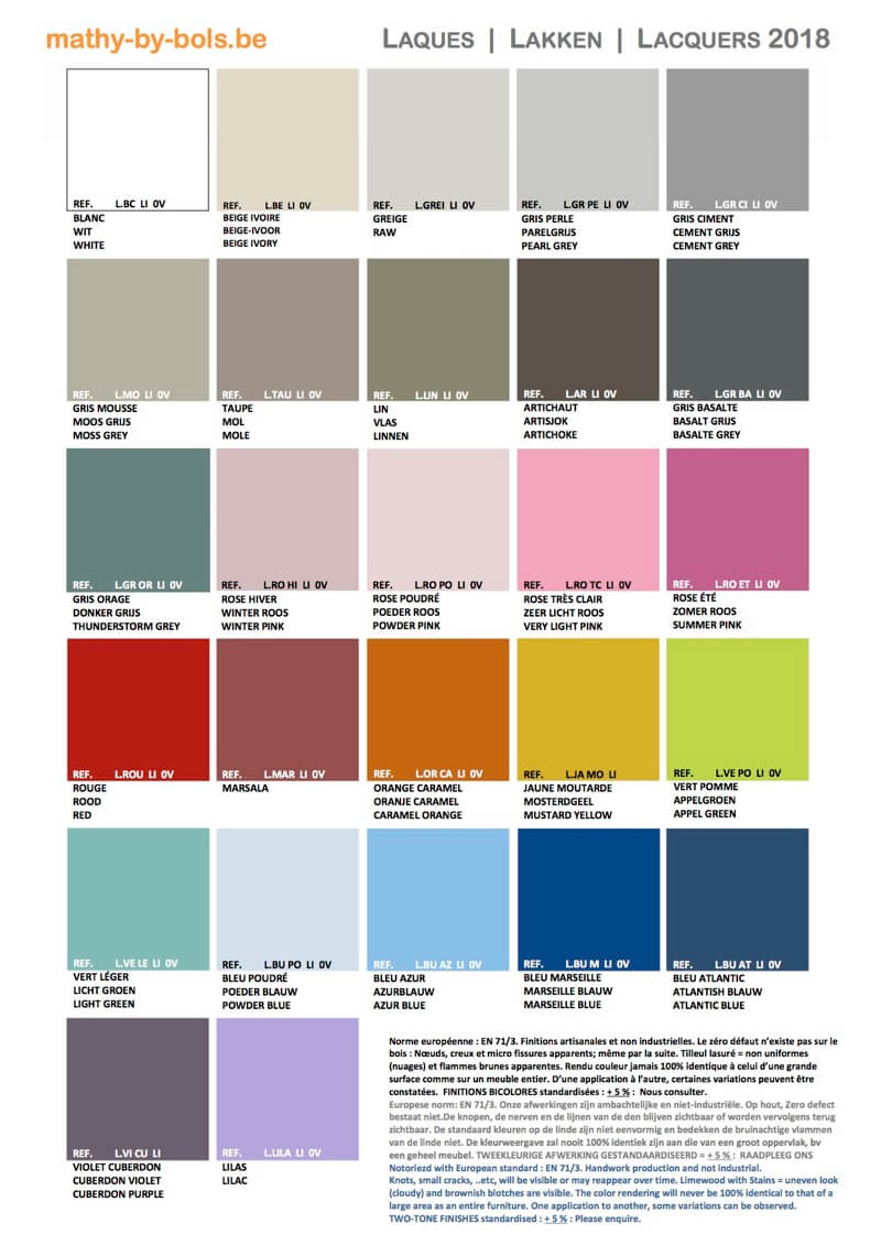 Couleurs Mathy by bols