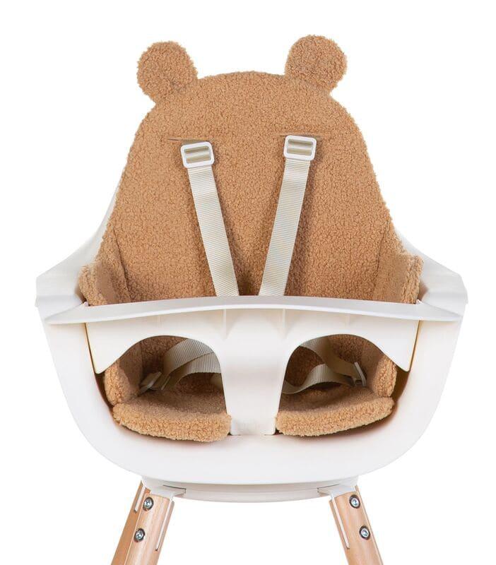 Coussin pour chaise haute Evolu Teddy Beige Childhome Produit