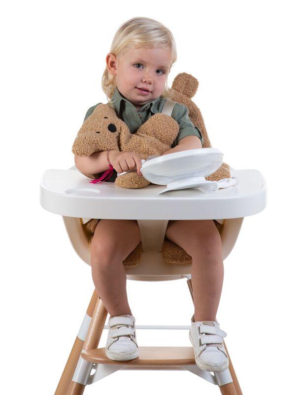 Coussin pour chaise haute Evolu Teddy Beige Childhome Bébé