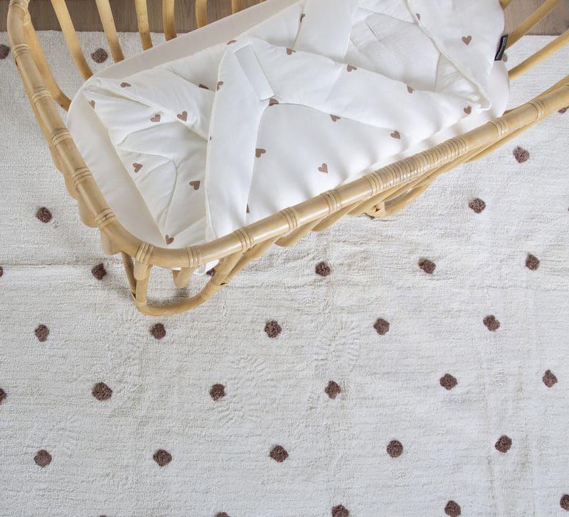 Couverture enveloppante 75 x 75 cm Jersey et Mousseline Hearts Childhome Lifestyle