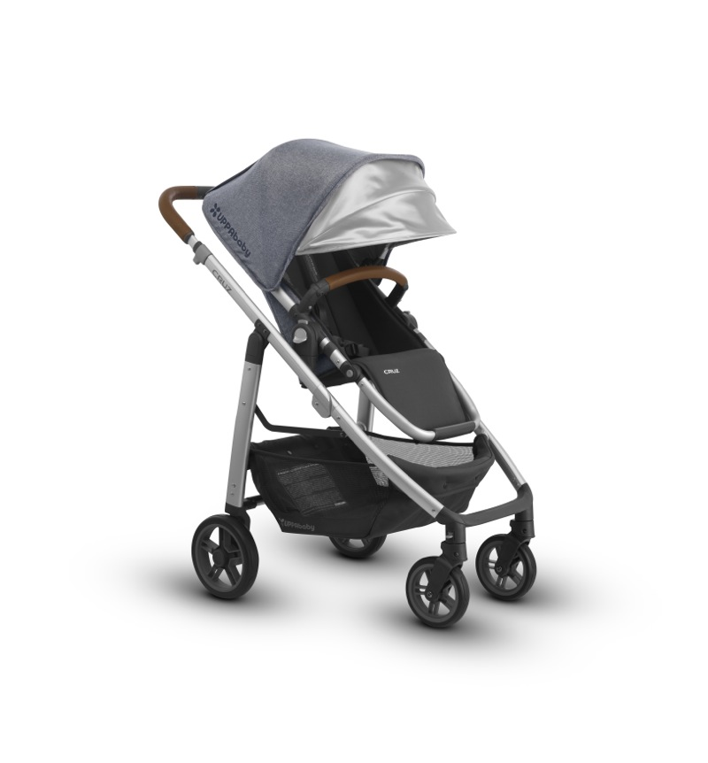 Poussette Cruz 2018 Gregory canopy Uppababy BamBinou