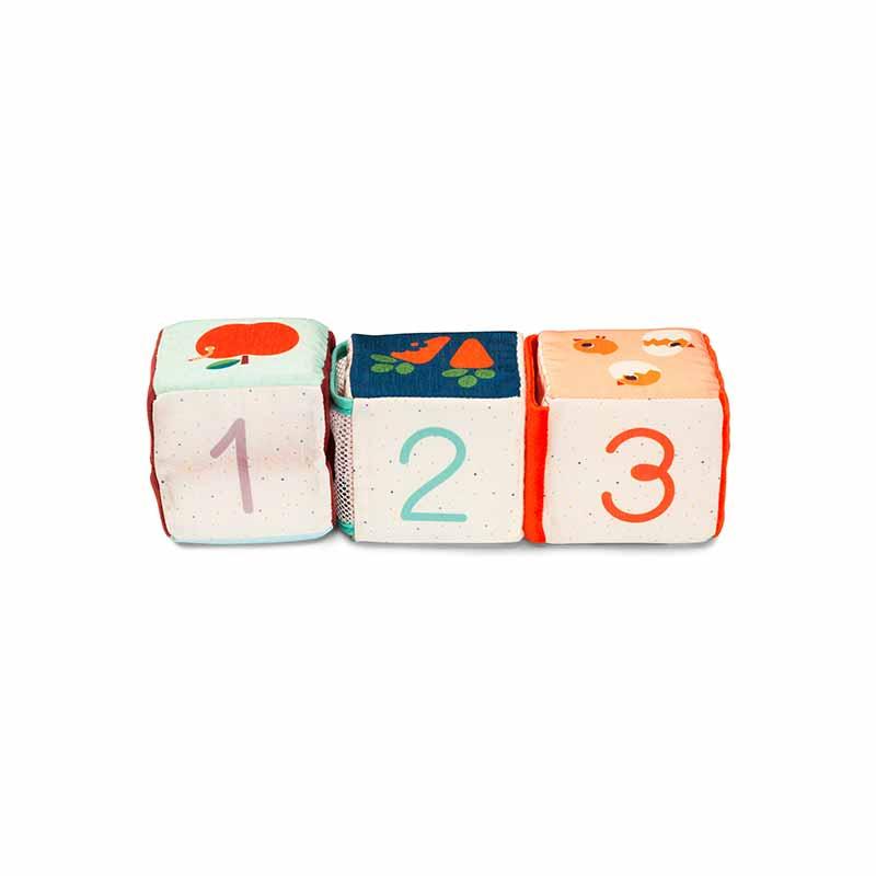 Cubes d'activités cache cache Ferme Lilliputiens Cubes