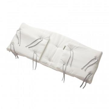 Tour de lit pour lit évolutif Classic en coton bio Leander