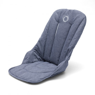 Habillage de siège poussette Fox Bugaboo Bleu Chiné