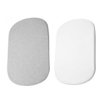 Lot de 2 draps pour Cododo IORA Blanc/Gris