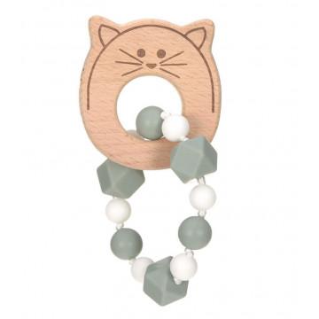 Bracelet de dentition Little Chums Chat Lassig 1