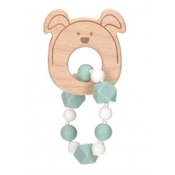 Bracelet de dentition Little Chums Chien Lassig 1