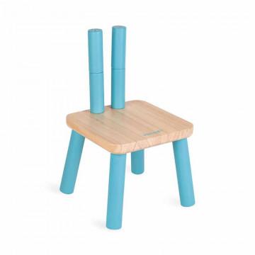 Chaise enfant evolutive en bois Janod