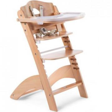 Chaise haute évolutive Lambda 3 avec tablette en PVC Childhome 1