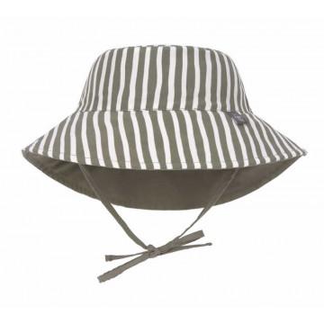 Chapeau anti-UV réversible Rayé olive Lassig Produit