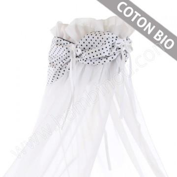 Ciel de lit coton organique pour berceaux Cododo Babybay bandeau