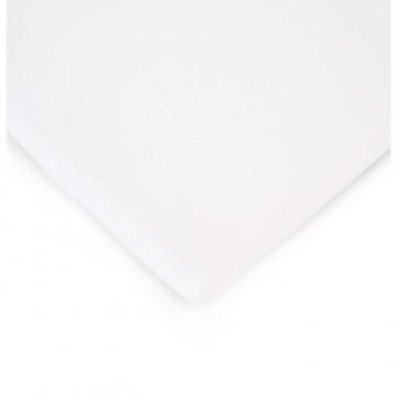 Drap housse pour lit 90 x 200 cm Blanc Childhome Produit